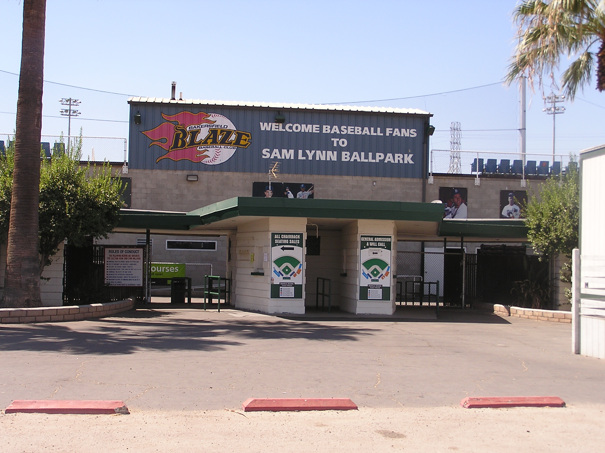 Sam Lynn Ballpark, Bakersfield, California