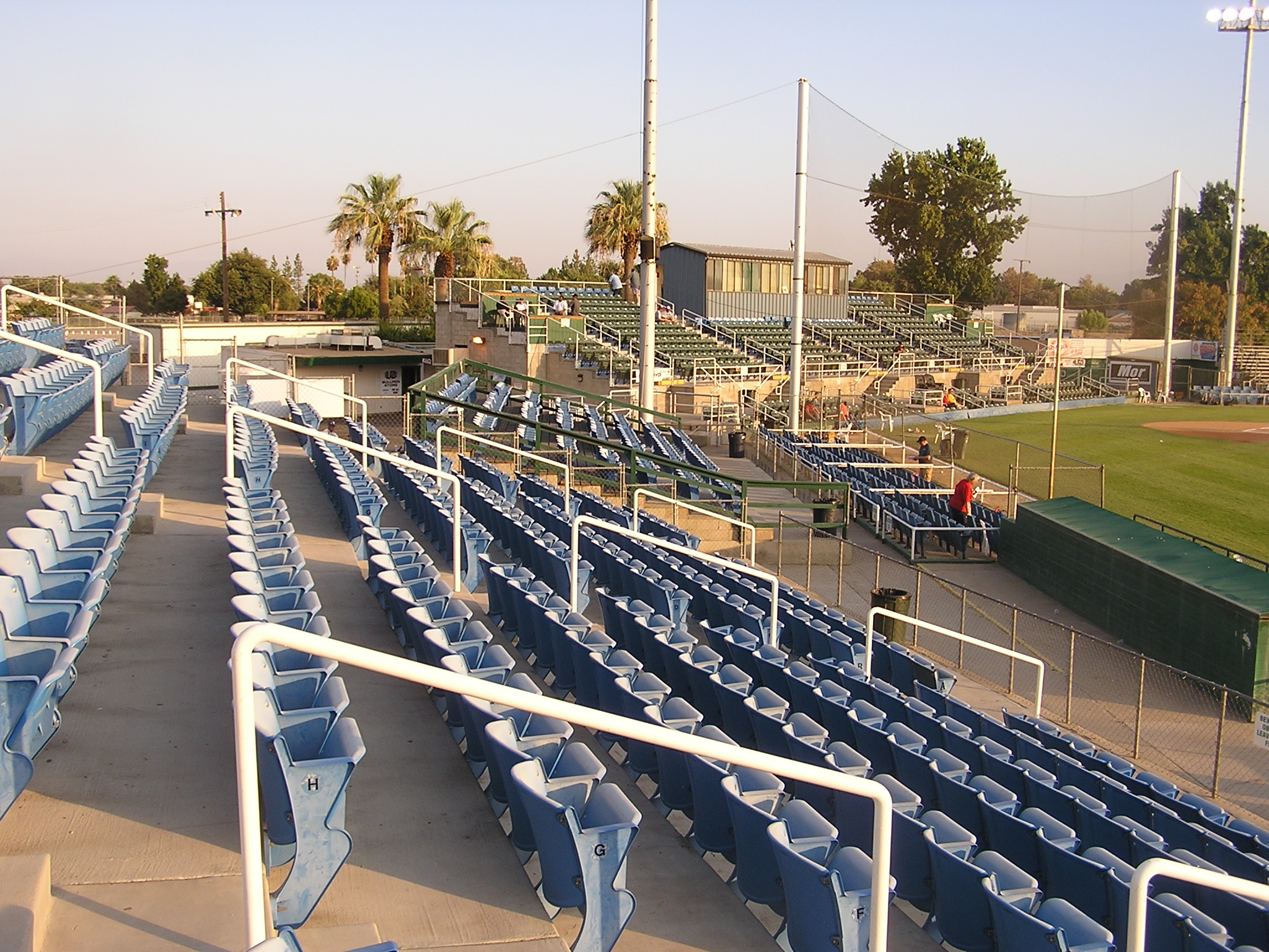 Seating at Sam Lynn Ballpark - Bakersfield, Ca.