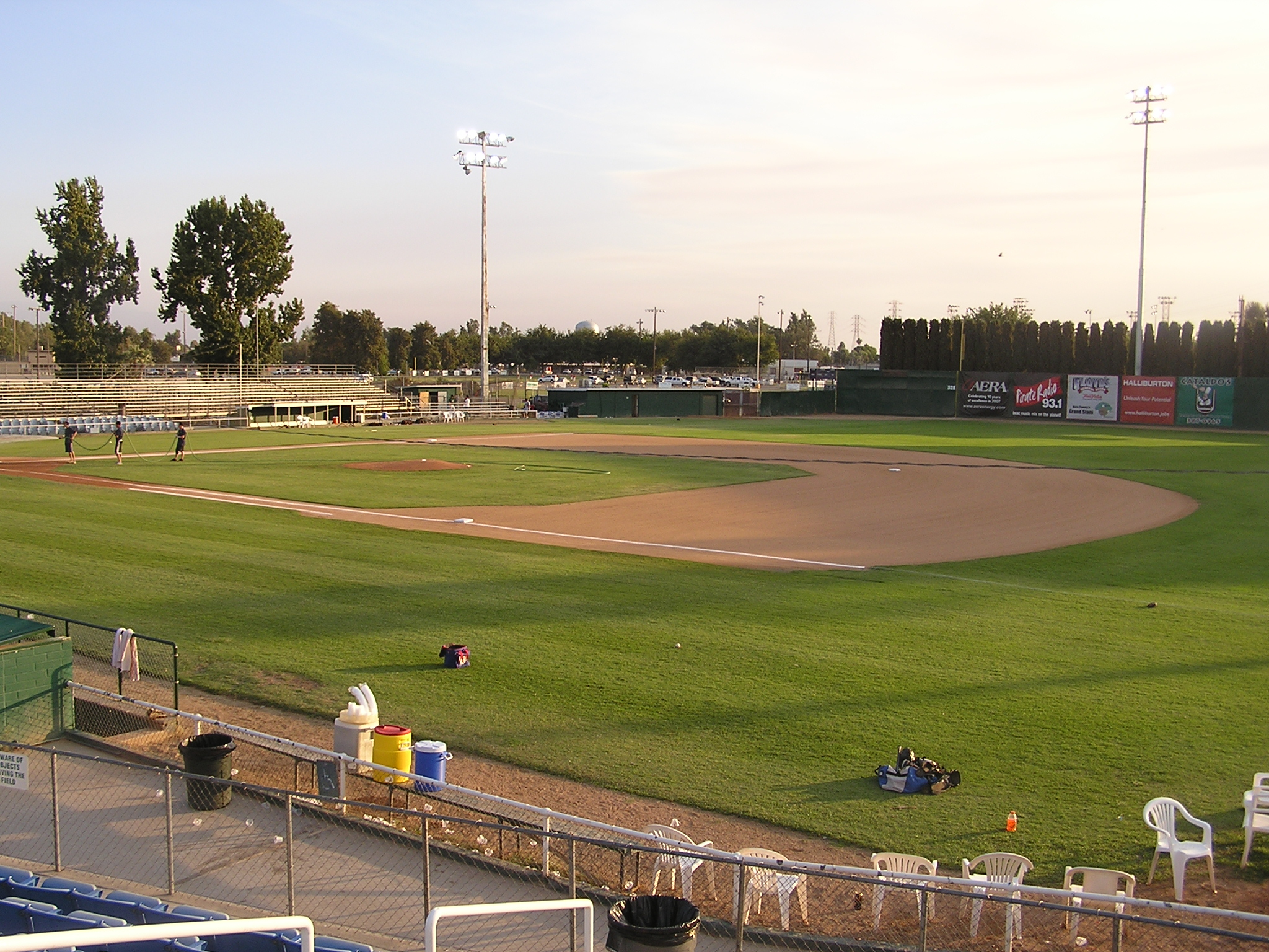 A view of the field, Sam Lynn Ballpark