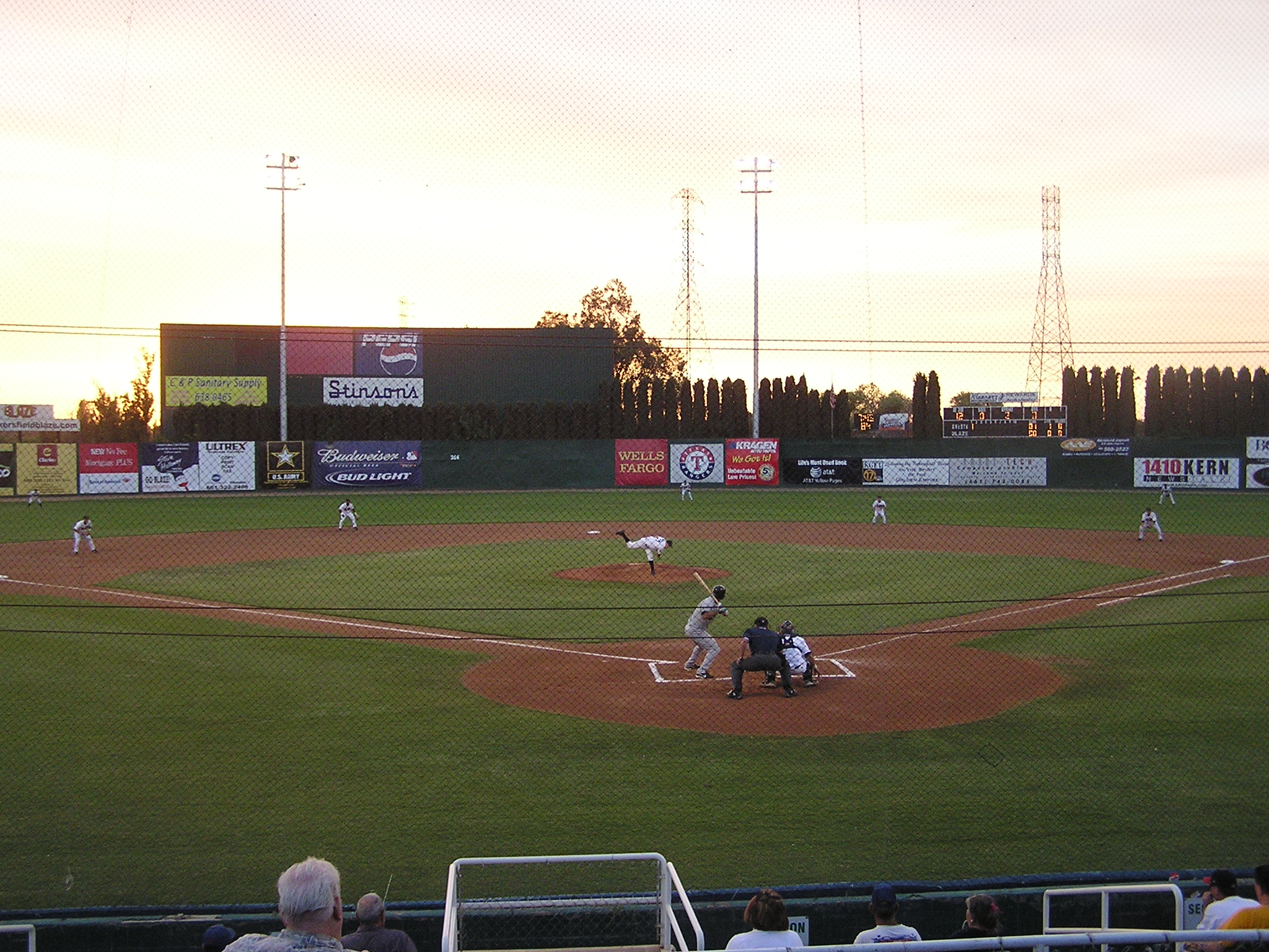 The Pitch - Sam Lynn Ballpark, Bakersfield, Ca.